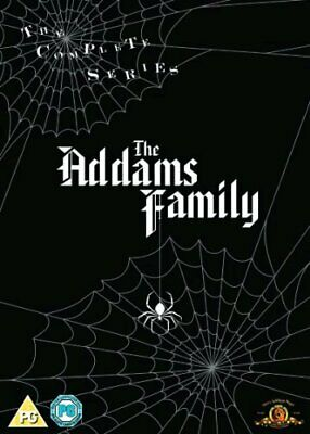 The Addams Family Seasons 1 To 3 Complete Collection Dvd [Uk] New Dvd