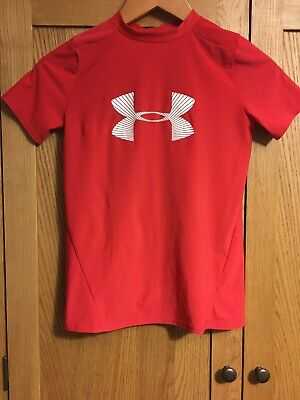 "Childs Under Armour  Rash Vest/technical Top  30"" Chest"