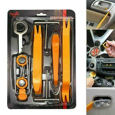 NovelBee 18pcs of Trim Removal Tools,Car Panel Door Dash Audio Radio Fastener Removal Installer Modification Pry Tool
