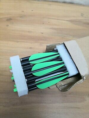 """KESHES Archery Carbon Hunting Arrows for Compound & Recurve Bows - SP 500 - 30"""""""