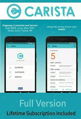 Carista Pro App Lifetime Subscription | Android