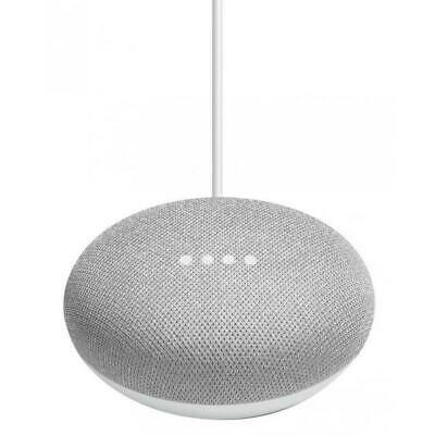 Google Home Mini Smart Personal Assistant Voice Activated Speaker *Chalk* NEW
