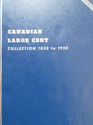 Set of Canada Large Cents Coin (1859 - 1920) - 27 Coins in WHITMAN Book (SC62)