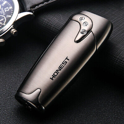 1PC Cigar Tobacco Lighter Jet Torch Straight Flame Refillable Butane Gas
