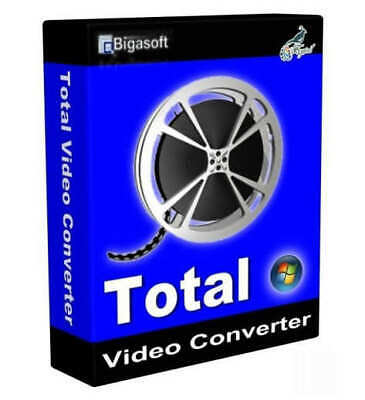 Total Video Converter Pro 2020 | Lifetime License | 5 PC's | Fast Delivery