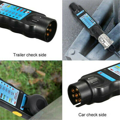 Circuit Plug Towing Lights  Car Adapter Diagnostic Cable Trailer Tester