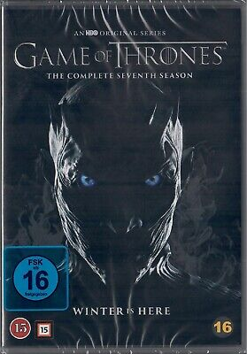 Game of Thrones Staffel 7 Neu und Originalverpackt 4 DVDs