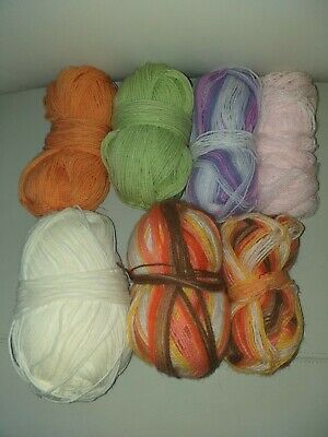 Job Lot Of Yarn Inc Baby Colours .Some new