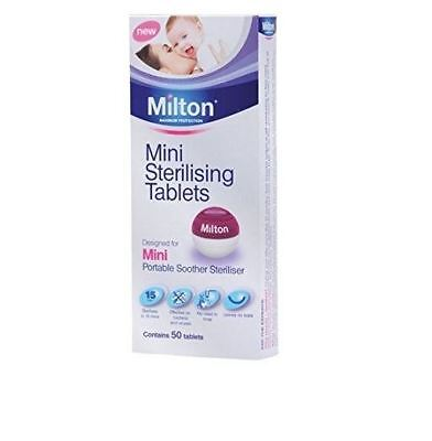 Milton Mini Sterilising Tablets 50 - Use With Mini Portable Soother Steriliser