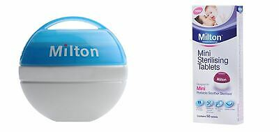 Milton Mini Portable Soother Steriliser & Mini Sterilising Tablets