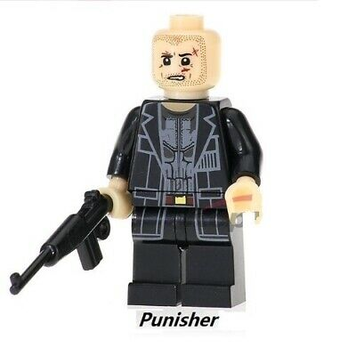 The Punisher - Jon Bernthal - Nuovo in Blister - Moc Custom Minifigures LEGO