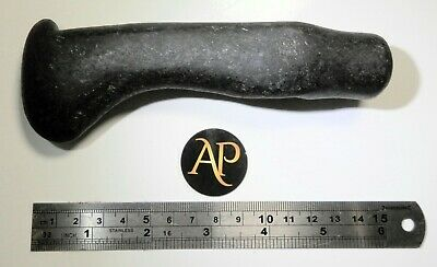 Neolithic Nordic Boat Shaped Hard Stone Polished Battle-Axe - Rare Prow Tip Type