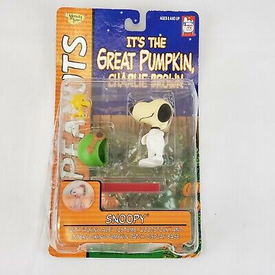 SNOOPY Flying Ace Charlie Brown Grande Citrouille Woodstock Action Figure 2002