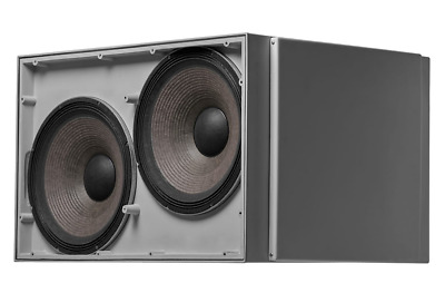 """JBL VLA-C125S Gray Dual 15"""" Subwoofer with Differential Drive Authorized Dealer"""