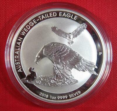2018 Silver Australian WEDGE-TAILED EAGLE 1 oz .9999 Coin Proof-Like GORGEOUS