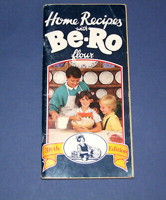 Be-Ro Home Recipes Baking/Cookbook. Thirty-eighth/38th million/edition (c. 1989)
