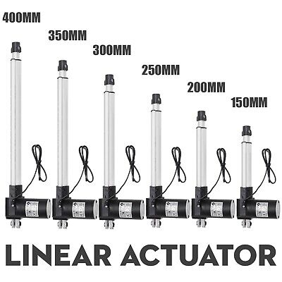 Heavy Duty 6000N Linear Actuator Max 1320lb Lift 12V Electric Motor for Auto Car