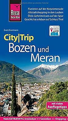 Reise Know-How CityTrip Bozen und Meran: Reisefü... | Book | condition very good