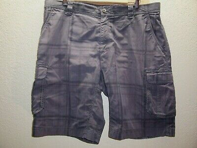 """THE NORTH FACE Mens 40"""" plaid cargo shorts Combine ship Discounts"""