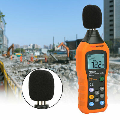 PEAKMETER PM6708 Portable Sound Level Meter Digital LCD Display Noise Tester
