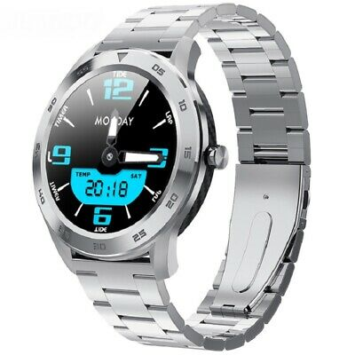 Bluetooth Touch Smart Watch HD Display Blood Pressure Men Women For Android iOS