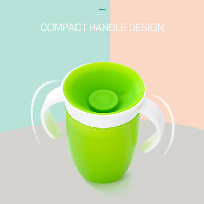 Baby Miracle Trainer Drinking Cup Decor 360° Sippy Cup Anti Spill