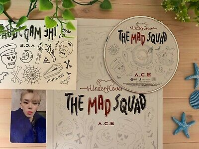 A.C.E Under Cover:The Mad Squad Byeongkwan photo card photocard Kpop