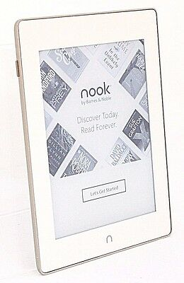 "Barnes & Noble Nook Glowlight Plus, 4GB, 6"" WiFi, BNRV510,(SCRATCHES) Gold 35-5C"