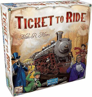 Ticket to Ride Board Game USA Free Shipping