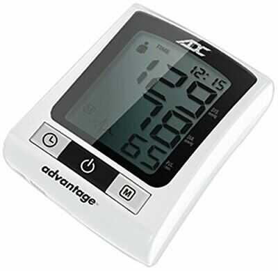 ADC Advantage 6015N Automatic Digital Wrist Blood Pressure Monitor, with Stor...