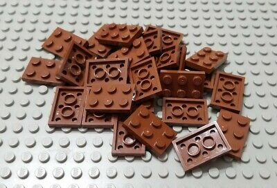 Qty:25 Element 4211257 Part 2420 New Lego Reddish Brown Plate 2x2 Corner