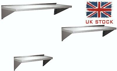 Stainless Steel Wall Shelves, Catering Shelf