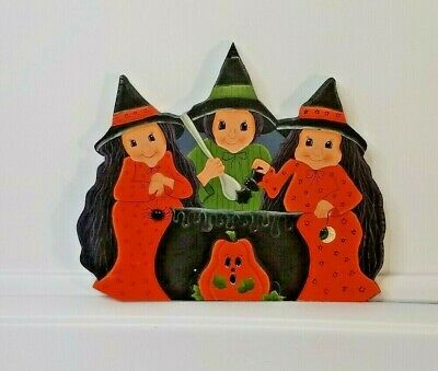 PRIMITIVE HALLOWEEN SIGN~~TWILIGHT WITCHES BALL~~