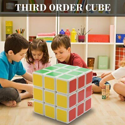 Third-Order Smooth Speed Magic Rubiks Cube Puzzle Easy Twist Educational SE