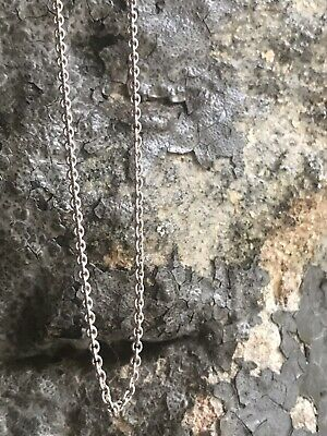 "Tiffany & Co. Sterling Silver 18"" Inch Chain."