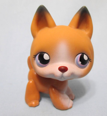 Littlest Pet Shop German Shepherd 112 Puppy Dog Authentic Lps Exclusive