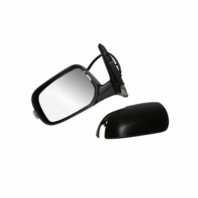 DUCATO BOXER RELAY DOOR WING MIRROR MANUAL BLACK RIGHT OFF SIDE 1313323080