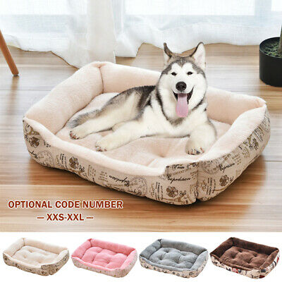 Pet Dog Cat Bed Puppy Cushion Blanket Mat Kennel Warm Soft House Kitten Washable
