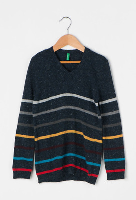 United Colors Of Benetton V-Neck Jumper Age 11-12 Years TD001 MM 06