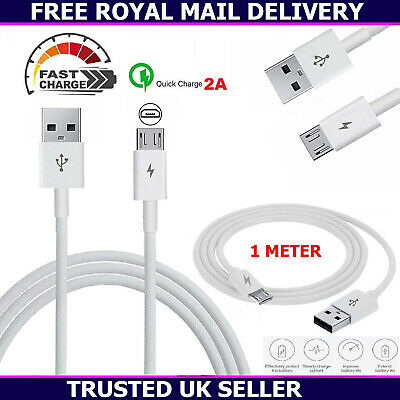 Genuine Samsung Galaxy S6 S7 Edge S5 Note 5 4 3 Fast USB Charger Data Lead Cable