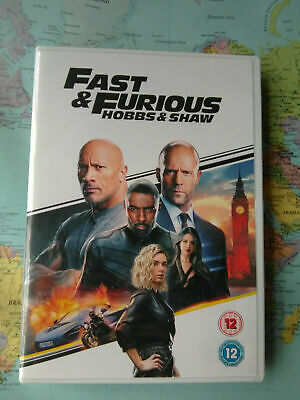 Hobbs And Shaw Dvd.