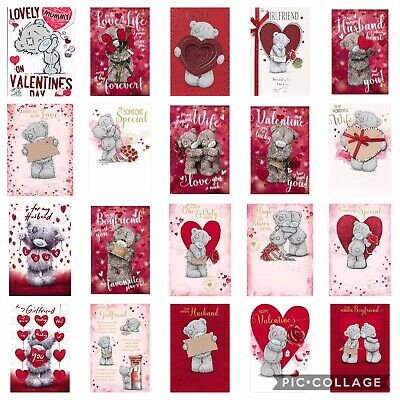 Me To You Tatty Teddy Valentines Day Cards Various Designs Love Romance Wife New