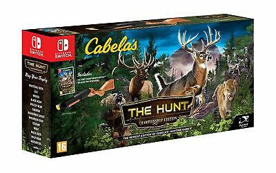 Cabela's The Hunt Championship Edition Nintendo Switch New Sealed Official