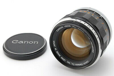 【EXC+++++】 Canon FL 55mm f/1.2 MF Standard Lens FD Mount from Japan