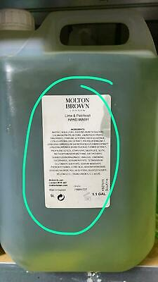Molton Brown lime and patchouli hand wash 1.1 GAL / 5 Litres