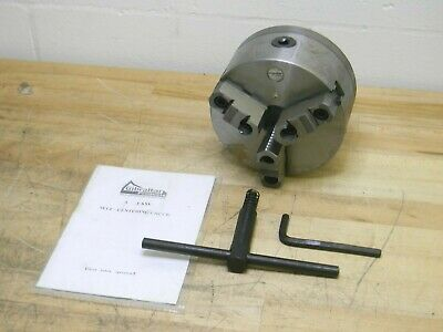 """Lathe Chuck Key Compatible with 3-Jaw ... Gibraltar 6/"""" Chuck Diam Compatibility"""
