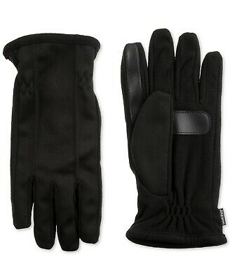 Isotoner Signature Men's smarTouch Touchscreen Gloves Black Size XL NEW $55