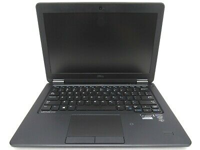 "Dell Latitude E7250 12.5"" Intel Core i7-5600U 2.60GHz 8GB RAM 128GB SSD"