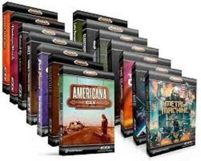 Toontrack EZ Drummer 2 MIDI pack collection   40+ Midi packs included