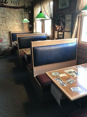 Restaurant Booths And Tables 8 Sets